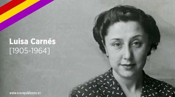 Resultado de imagen de Luisa Carnés (1905-1964)