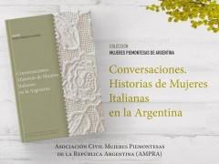 Conversaciones. Historias de  mujeres italianas en la Argentina.