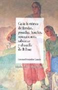 Guía histórica de fondas, posadas, hoteles, restaurantes, tabernas y chacolís de Bilbao